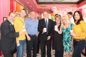 Cafecito with the Mayor at Sloan's Ice Cream Doral with Doral Mayor J.C. Bermudez