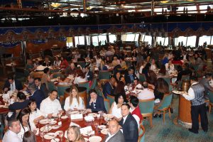 Carnival Cruise Luncheon hosted by Doral Chamber of Commerce, whole room picture.